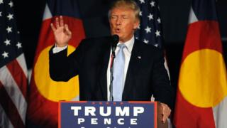 Donald Trump in Denver, Colorado - 29 July