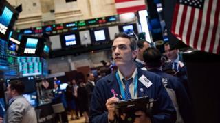Trader, New York Stock Exchange