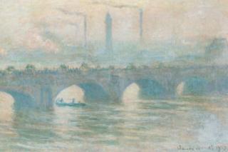 Monet's Waterloo Bridge
