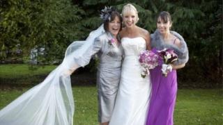 Clodagh, her mother and sister