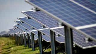 UK solar farm