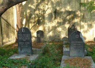 The Jewish cemetery in Chennai
