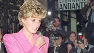 Princess Diana in Paris, 1992