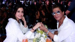 شاہ رخ خان اور انوشکا شرما