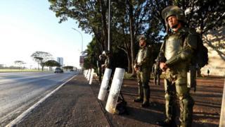 Forças Armadas em Brasília