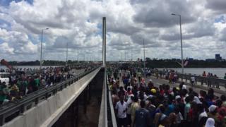Nyerere bridge, Tanzania