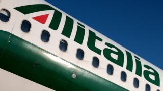 طائرة شركة أليطاليا
