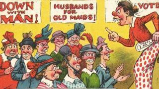 بوستكارد يظهر نساء قبيحات