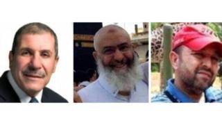 Khaled Belkacemi da Azzedine Soufiane da Aboubaker Thabti, uku daga cikin mutanen da suka rasu a harbin masallacin birnin Quebec