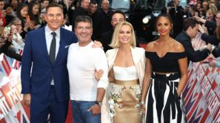BGT judges David Walliams, Simon Cowell, Amanda Holden and Alicia Dixon