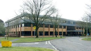 Swansea council offices in Penllergaer