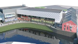 Developments plans for Haverfordwest
