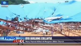 سقف الكنيسة المنهار في اويو