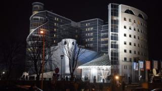 Building of Polish public TV (file photo 4 January)