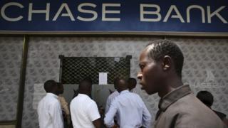 Outside Chase Bank
