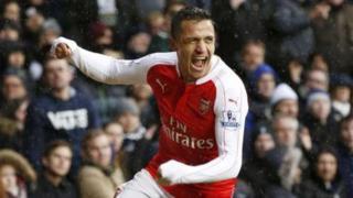 Alexi Sanchez aliifungia Arsenal bao la kwanza