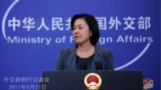 चीन विदेश मंत्रालय