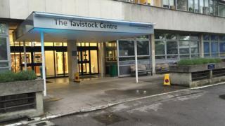 Outside the Tavistock Centre Clinic