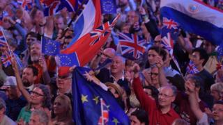 Flag-waving at the Proms