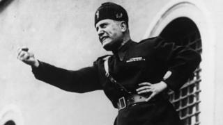 Italy's fascist leader, Benito Mussolini, in 1934