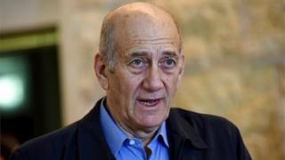 Ehud Olmert (file photo)