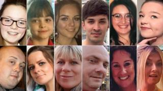Victims of the Manchester bombing
