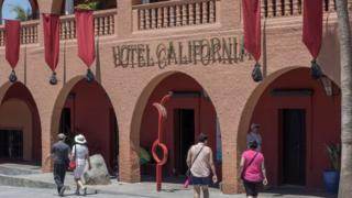Hotel California en Todos Santos