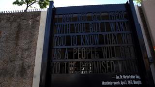 King's Memphis speech on the Memphis Civil Rights Museum