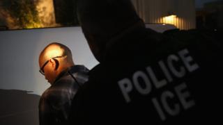 Persona capturada por estar indocumentada en EEUU
