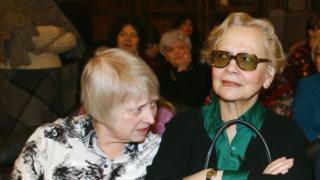 Юлия Хрущева и дочь Никиты Хрущева Рада