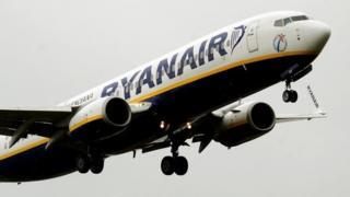 Самолет Ryainair