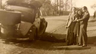 Lale and Gita Sokolov, 1940s