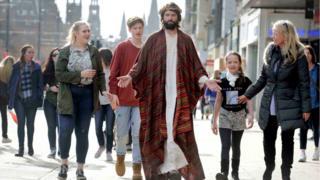 Jesus on Princes Street