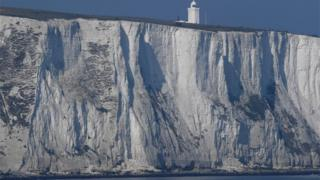 White cliffs of Dover Newspaper headlines: Energy price cap and Britain's French border ... - BBC News Newspaper headlines: Energy price cap and Britain's French border ... - BBC News  95977063 mediaitem95977062
