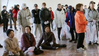 учения по эвакуации в Японии