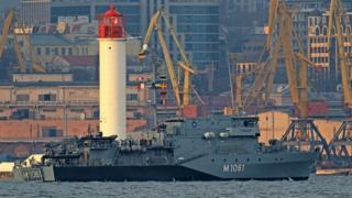 Корабель НАТО в Одесі