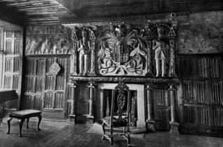 The Oak Parlour at Gwydir Castle
