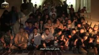 Suriyada bir necha yuz qozogʻistonlik jang qilishi aytiladi