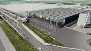 New arrivals terminal