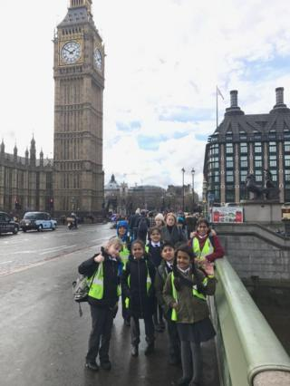 Pupils in London