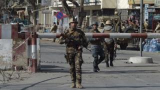 Pasukan keamanan Afghanistan