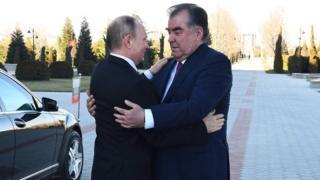 Putinni Tojikiston prezidenti qabul qildi