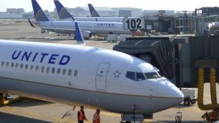 United Airlines pilotu yolcuları korkuttu