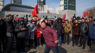 Dân Trung Quốc 'bộc phát' phản đối siêu thị Lotte của Hàn Quốc vì vụ triển khai hệ thống THAAD