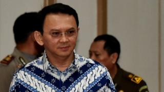 Basuki Tjahaja Purnama, known as Ahok