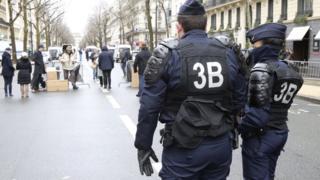 поліція в Парижі