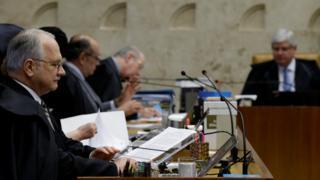 Ministros no STF