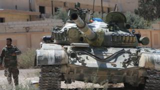 Suriye ordusu güçleri Humus'ta