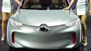 Samsung/Renault concept car