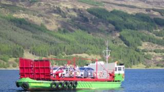 An MV Gleann a' Chaolais
